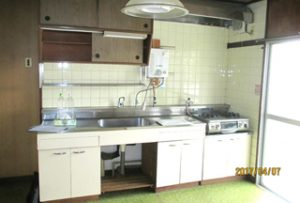 キッチン【before】