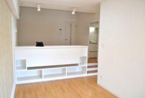 リビング1【after】:古い家具を取り壊し、そこに別注で新たに家具を作成