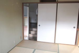 和室2→洋室【before】